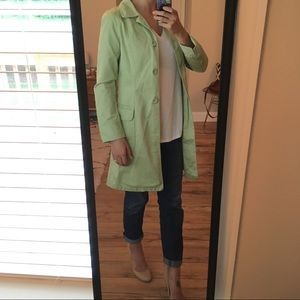 Halogen Trench Coat - Pistachio